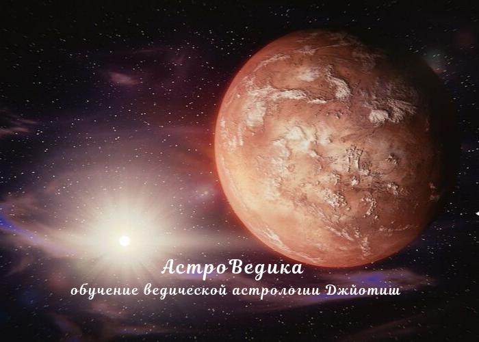 Марс джйотиш